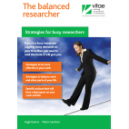 ebook: The Balanced Researcher: Strategies for busy researchers [DOWNLOAD]