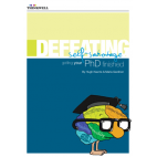 ebook: Defeating Self-Sabotage: Getting your PhD finished [DOWNLOAD]