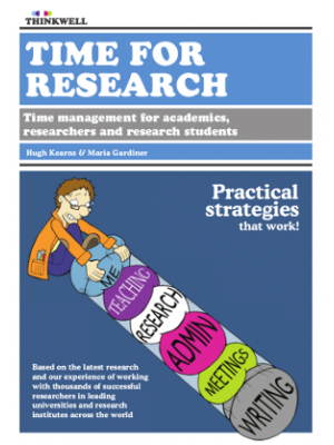 ebook: Time for Research: Time management for academics, researchers and PhD students [DOWNLOAD]